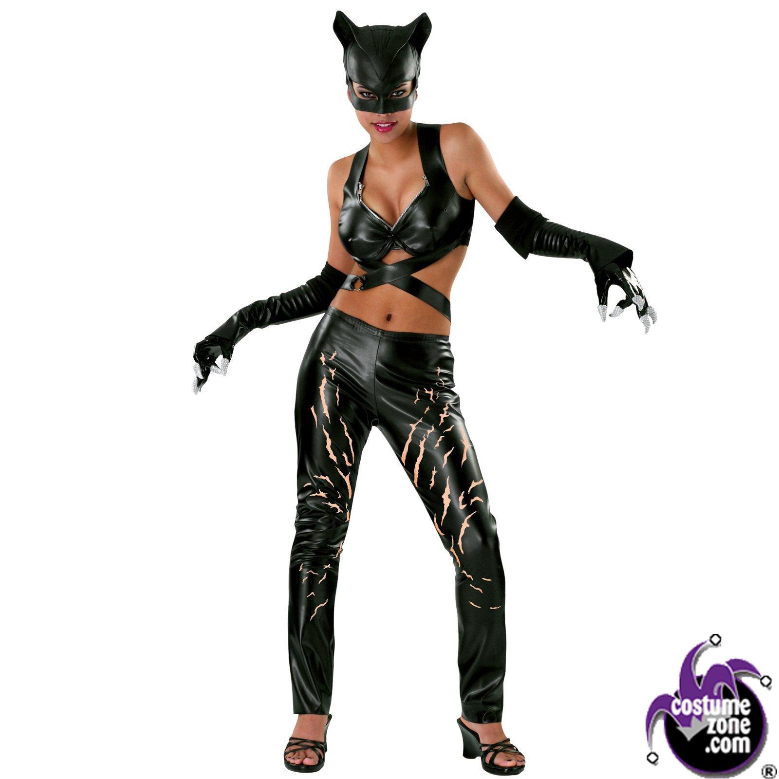 Halloween Costumes | Halloween Catwoman Deluxe Costume (Women's Adult Large 14-16)