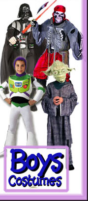 Boys Halloween Costumes By Size from CostumeZone.com�