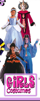 Girls Halloween Costumes By Size from CostumeZone.com�