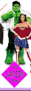 Adult Cartoon Halloween Costumes from the Cartoon Zone®
