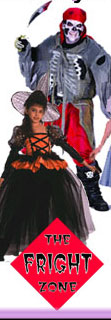 Scary child Halloween Costumes from the Fright Zone®