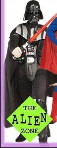 Alien Zone Plus Size Adult Halloween Costumes - X-Large Extra Large Adult Halloween Costumes