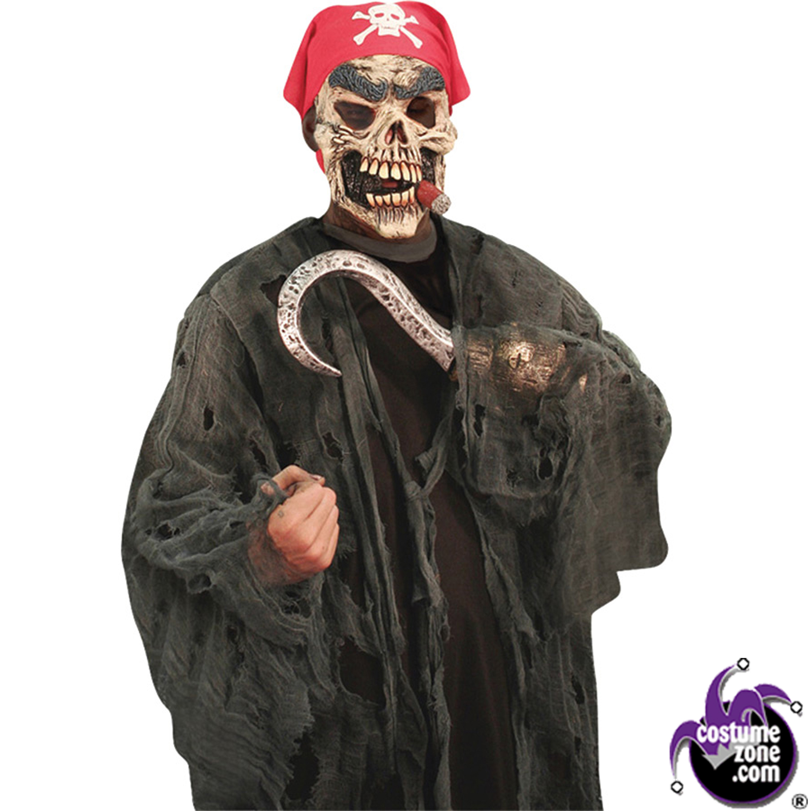 Halloween Costumes | Halloween Pirate Ghoul Costume (Men's Adult Costume)