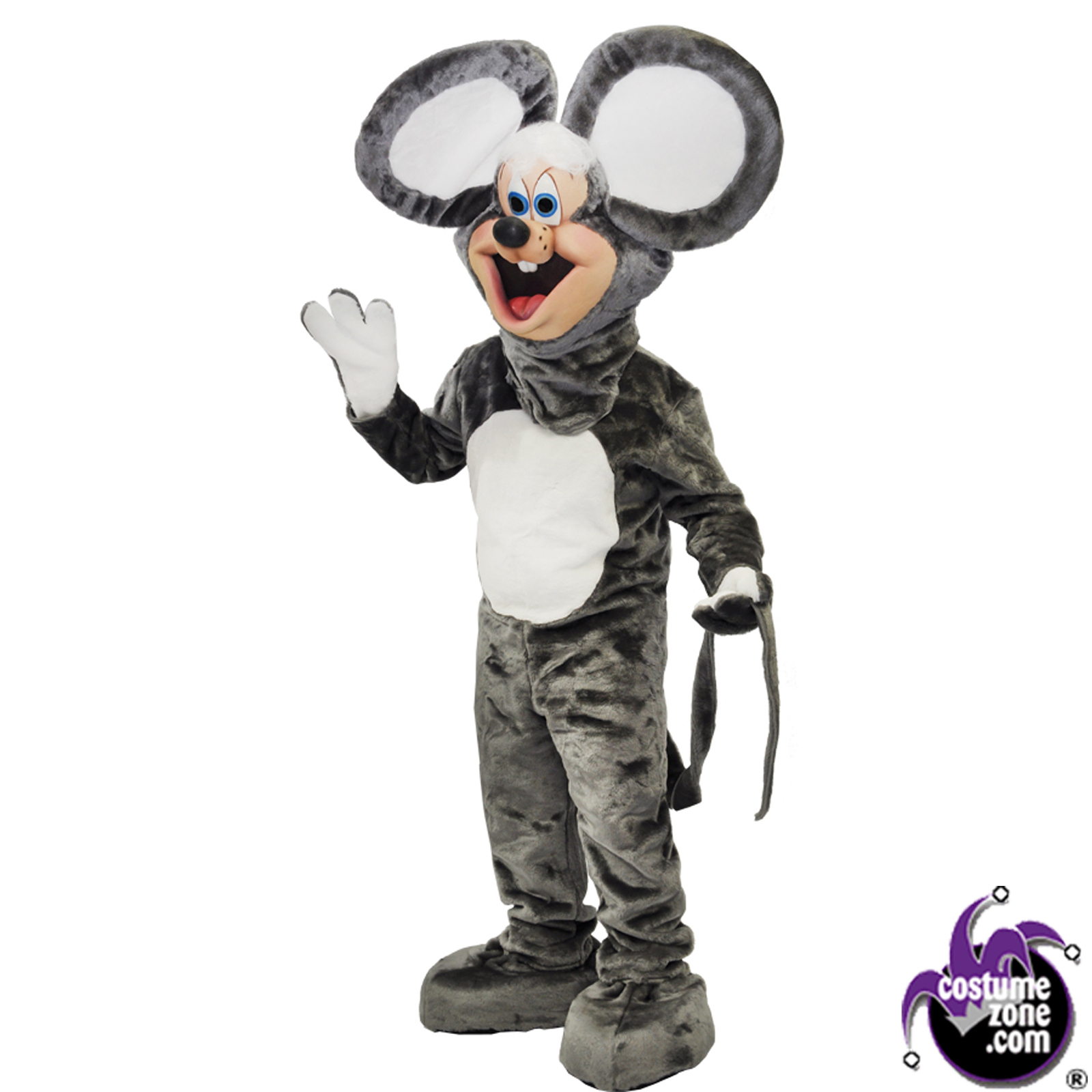 Halloween Costumes | Halloween Zoobies Squeek Mouse Mascot Costume (Adult Regular Size)